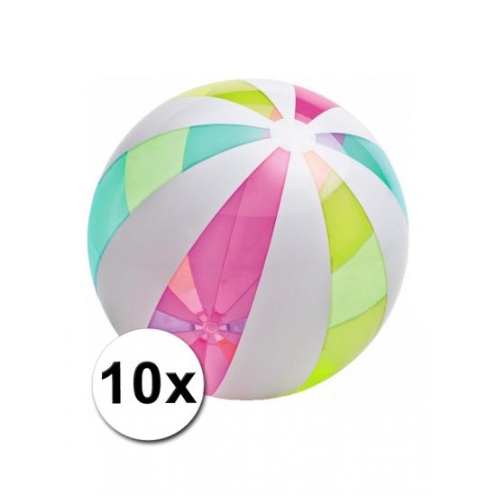 10 mega strandballen 107 cm