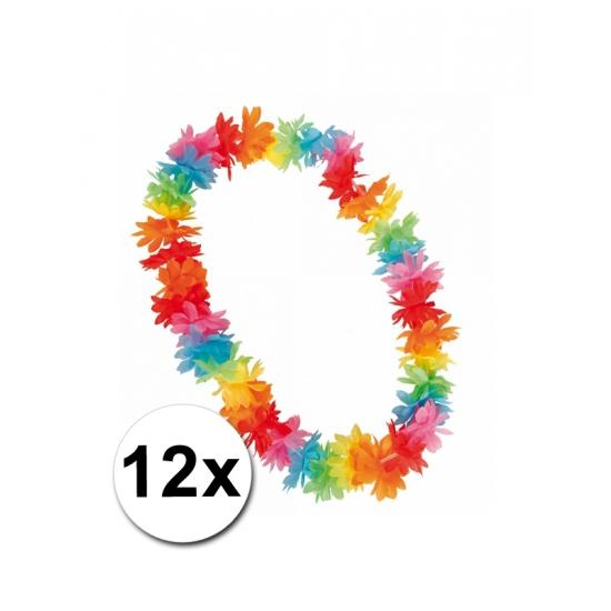 12 Hawaii kransen in zomerse kleuren