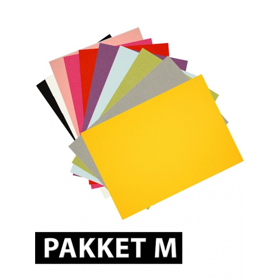 A4 hobby karton gekleurd 36 stuks