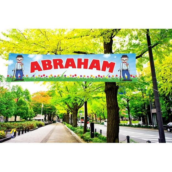 Abraham PVC spandoek 200 x 50 cm