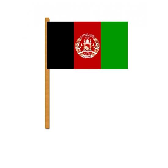 Afghanistan zwaaivlag
