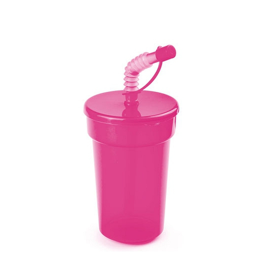 Afsluitbare drinkbeker roze