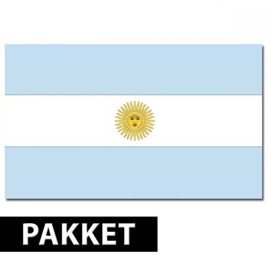 Argentinie versiering pakket