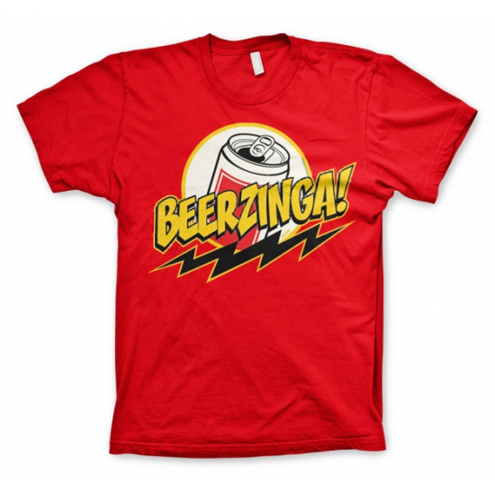 Big Bang Theory Beerzinga t-shirt