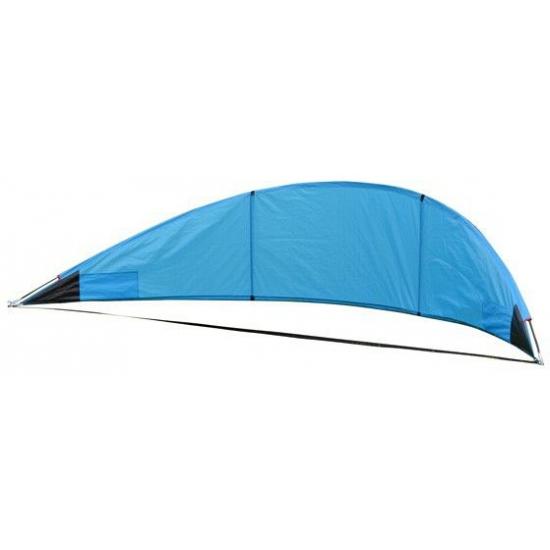 Blauw windscherm 310 cm