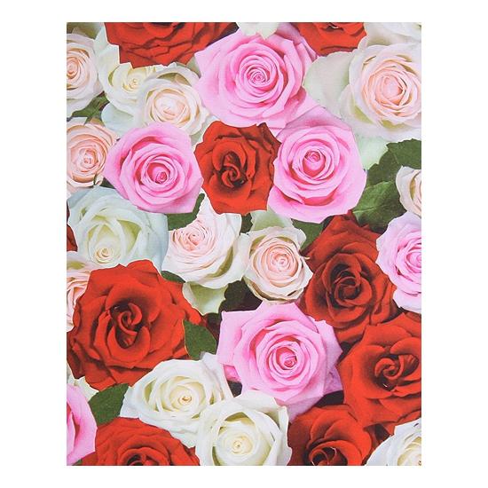 Cadeaupapier rode rozen