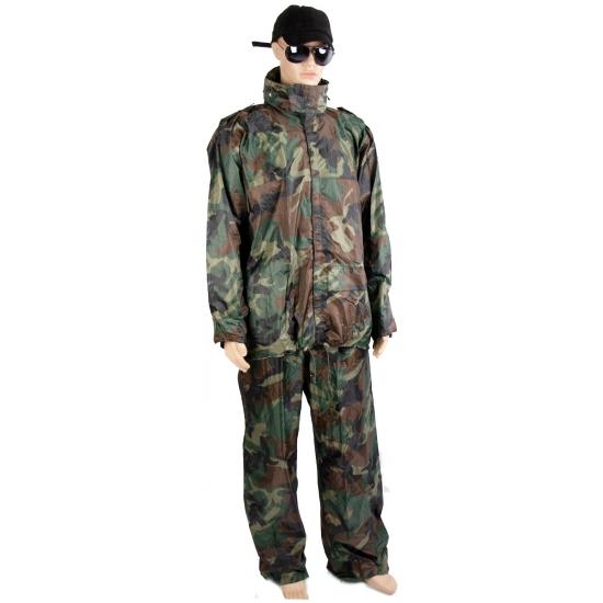Camouflage regenpak