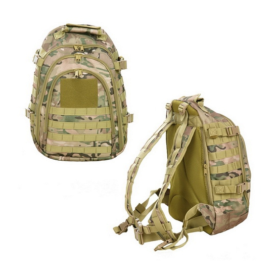 Camouflage rugzak met MOLLE systeem