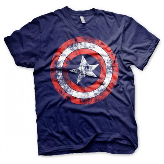 Captain America t-shirt heren