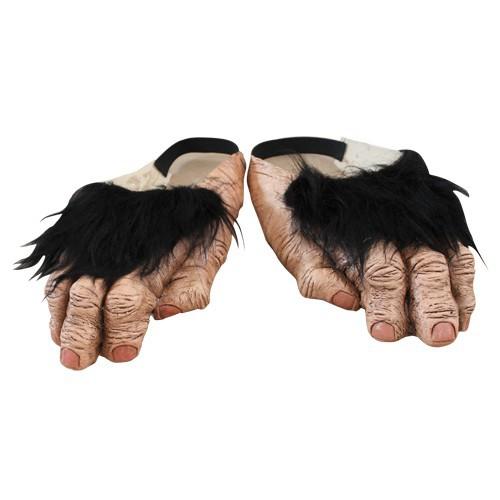 Chimpansee voeten van latex