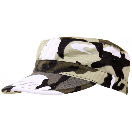 City camouflage army cap kids