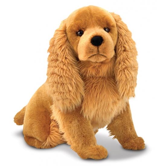 Cocker Spaniel knuffel hond 51 cm