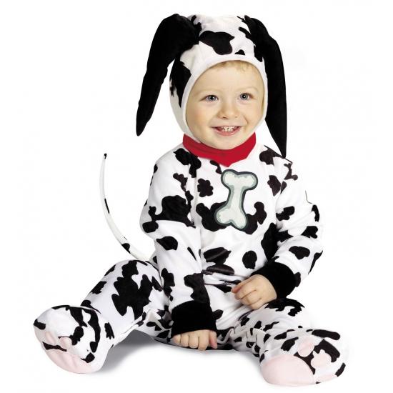 Dit dalmatier kostuum voor baby's maakt uw baby eruit zien als een schattig hondje. dit dalmatier kostuum is ...