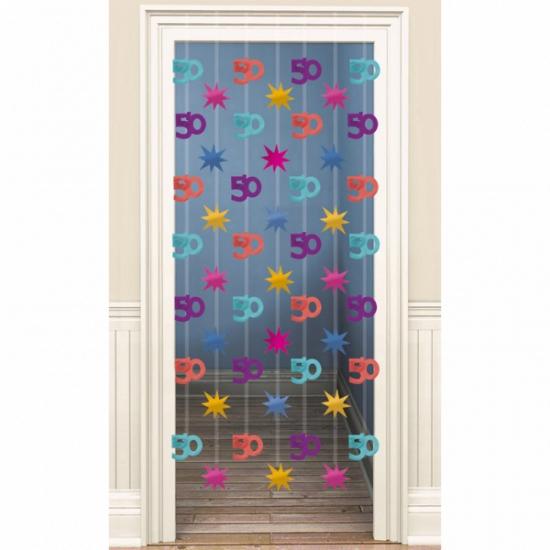 Deco deurgordijn 50 jaar