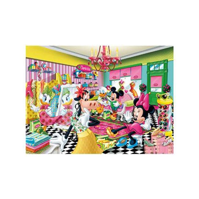 Disney puzzel Minnie winkelen