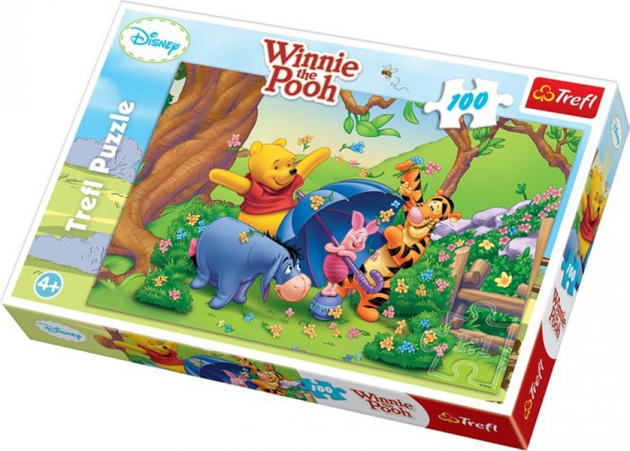 Disney Winnie de Poeh puzzel 100 stukjes