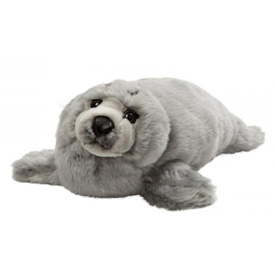 Grijze knuffel zeehond 40 cm (bron: Feestartikelen-winkel)