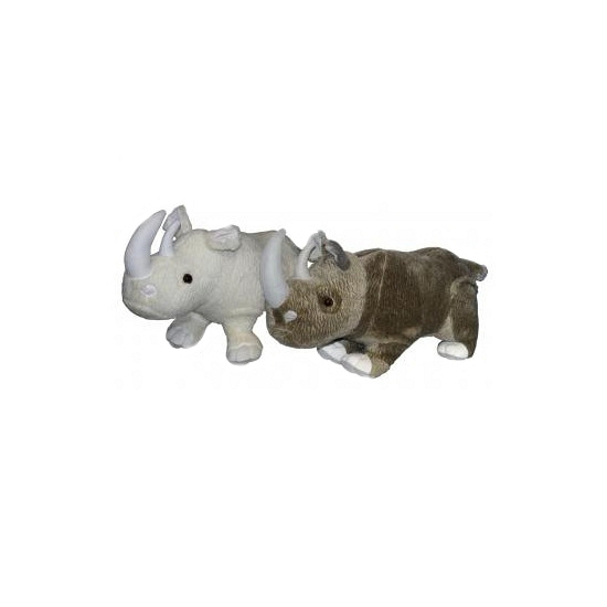 Grijze neushoorn knuffel 58 cm