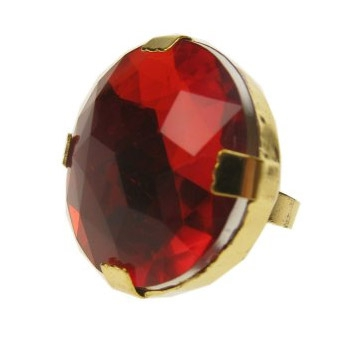Grote ronde bling ring