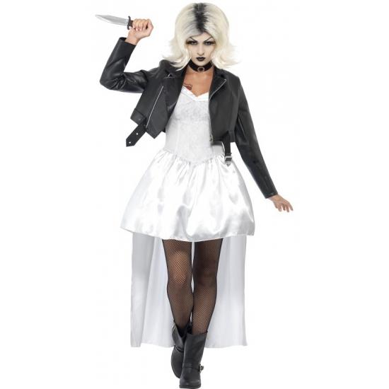 Halloween Bruid van Chucky kostuum