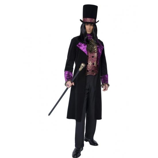 Halloween Gothic graaf kostuum voor heren