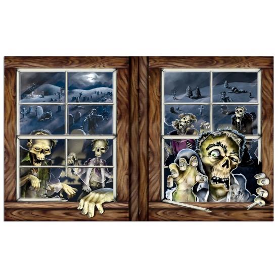 Halloween Halloween zombie scenesetter