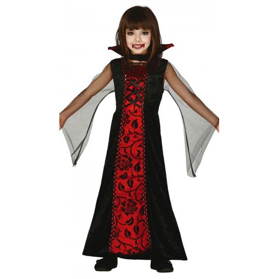 Halloween Rode vampieren jurk voor meisjes