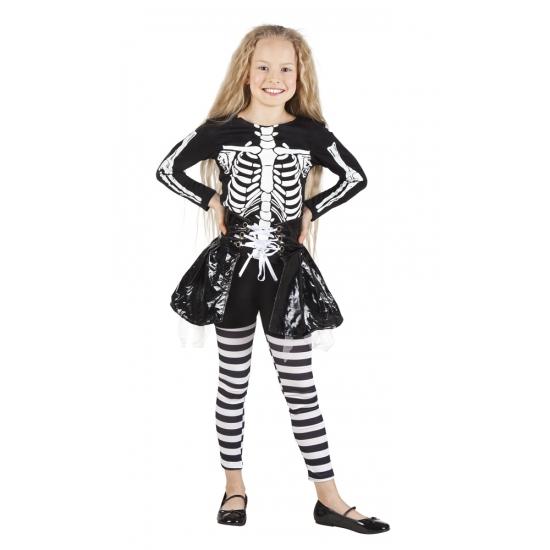 Halloween Skelet kostuum voor meisjes