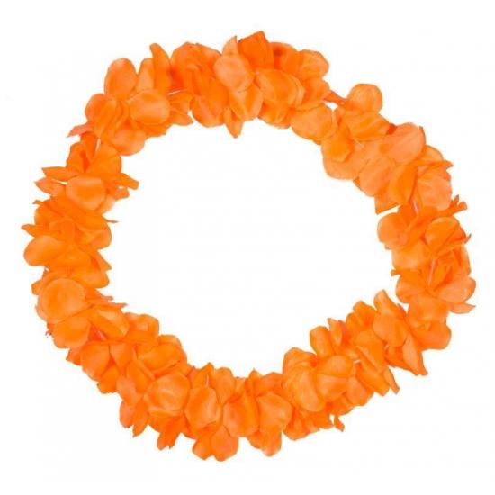 Hawaii slinger neon oranje