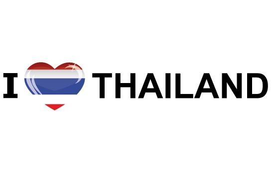 I Love Thailand sticker