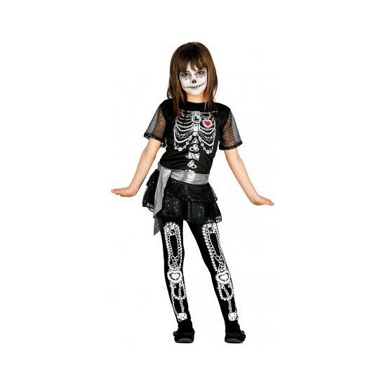 Juwelen skelet jurkje voor meisjes