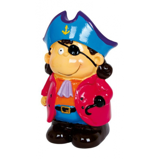 Kapitein Blue spaarpot 14 cm