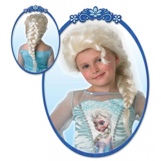 Kinderpruik Elsa uit Frozen (bron: Feestartikelen-winkel)