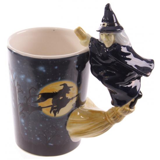 Koffie mok heksen thema