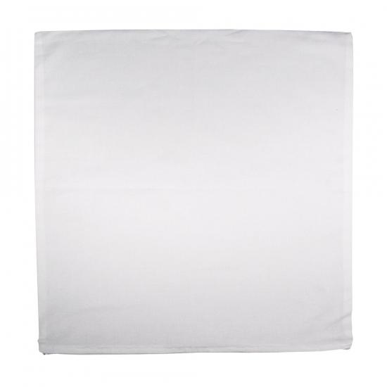 Kussenhoes wit 50 x 50 cm