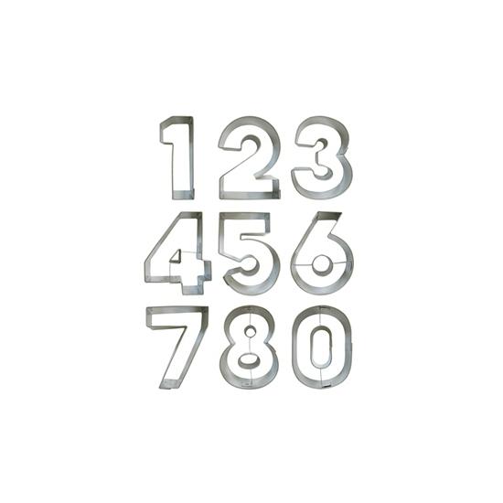 Leeftijd koekvormen alle cijfers