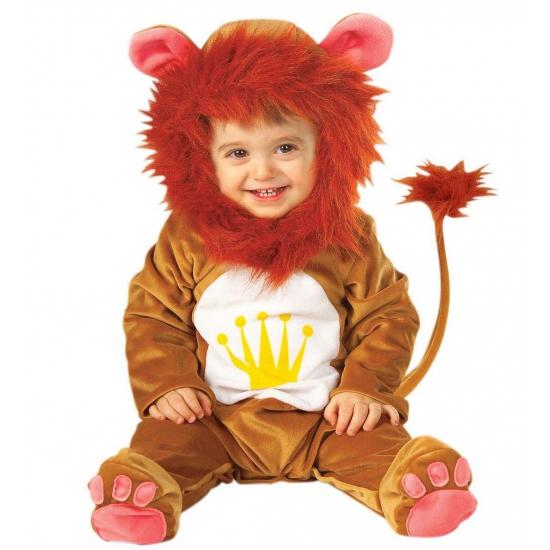 Leeuwen baby kostuum. dit super schattige leeuwen pakje is superzacht. inclusief capuchon met nepbont rond ...