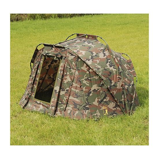Luxe camouflage karpertent voor 1 persoon