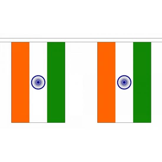 Luxe India vlaggenlijn 9 m