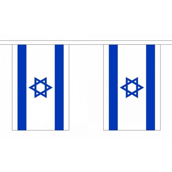 Luxe Israel vlaggenlijn 9 m
