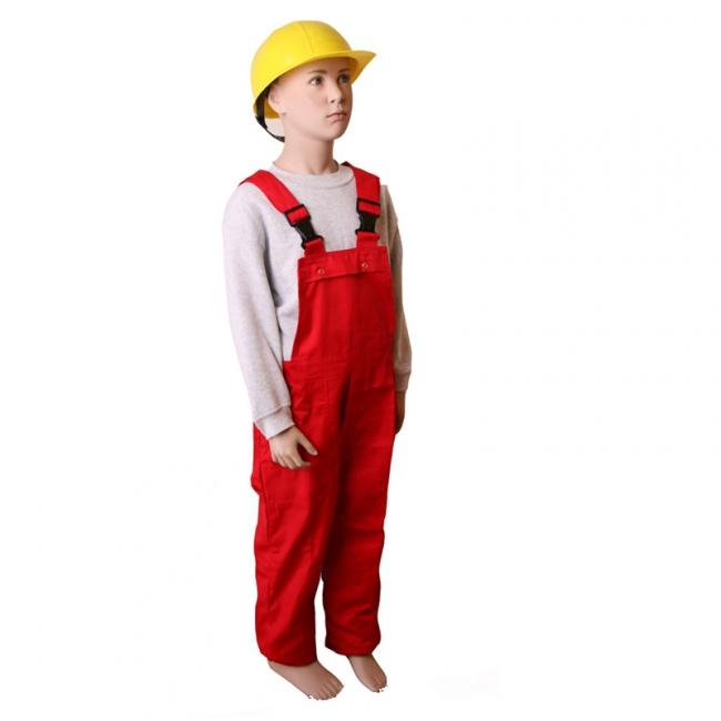 Luxe rode tuinbroek voor kinderen