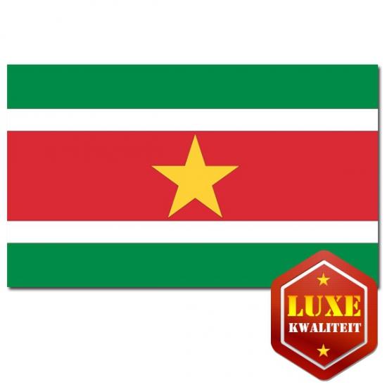 Luxe vlag van Suriname