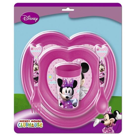 Minnie Mouse kinder servies set
