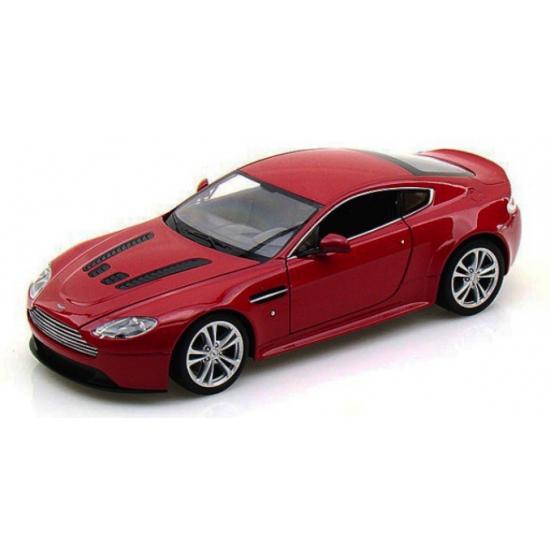 Modelauto Aston Martin V12 Vantage S rood 1:24