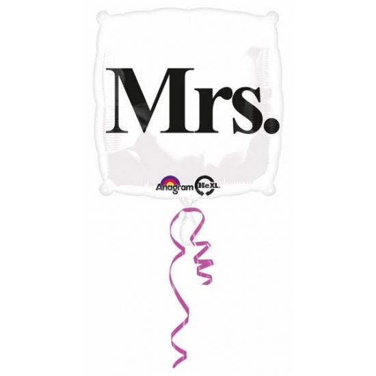 Mrs. folie ballon