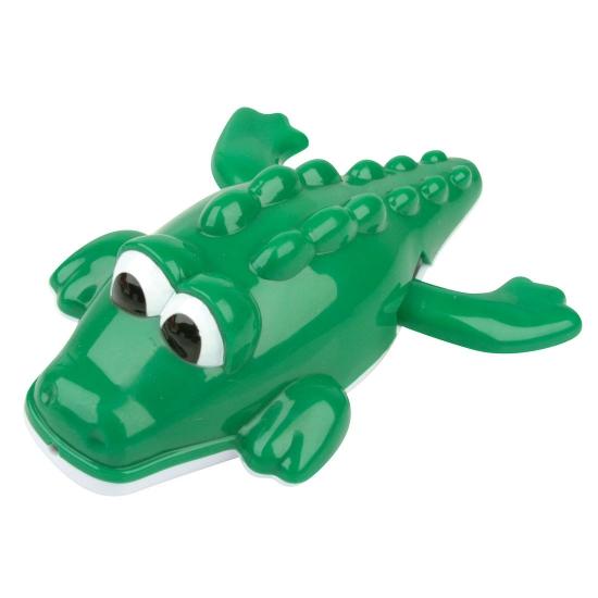 Opwindbaar krokodil badspeeltje
