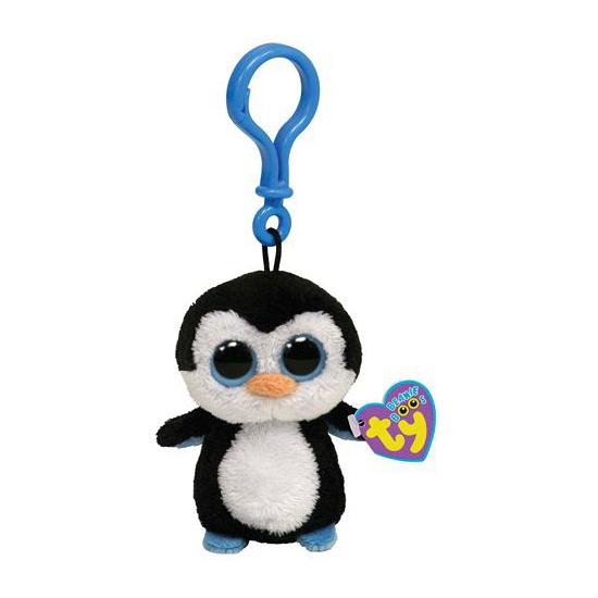Pinguin Ty Beanie Waddles sleutelhanger