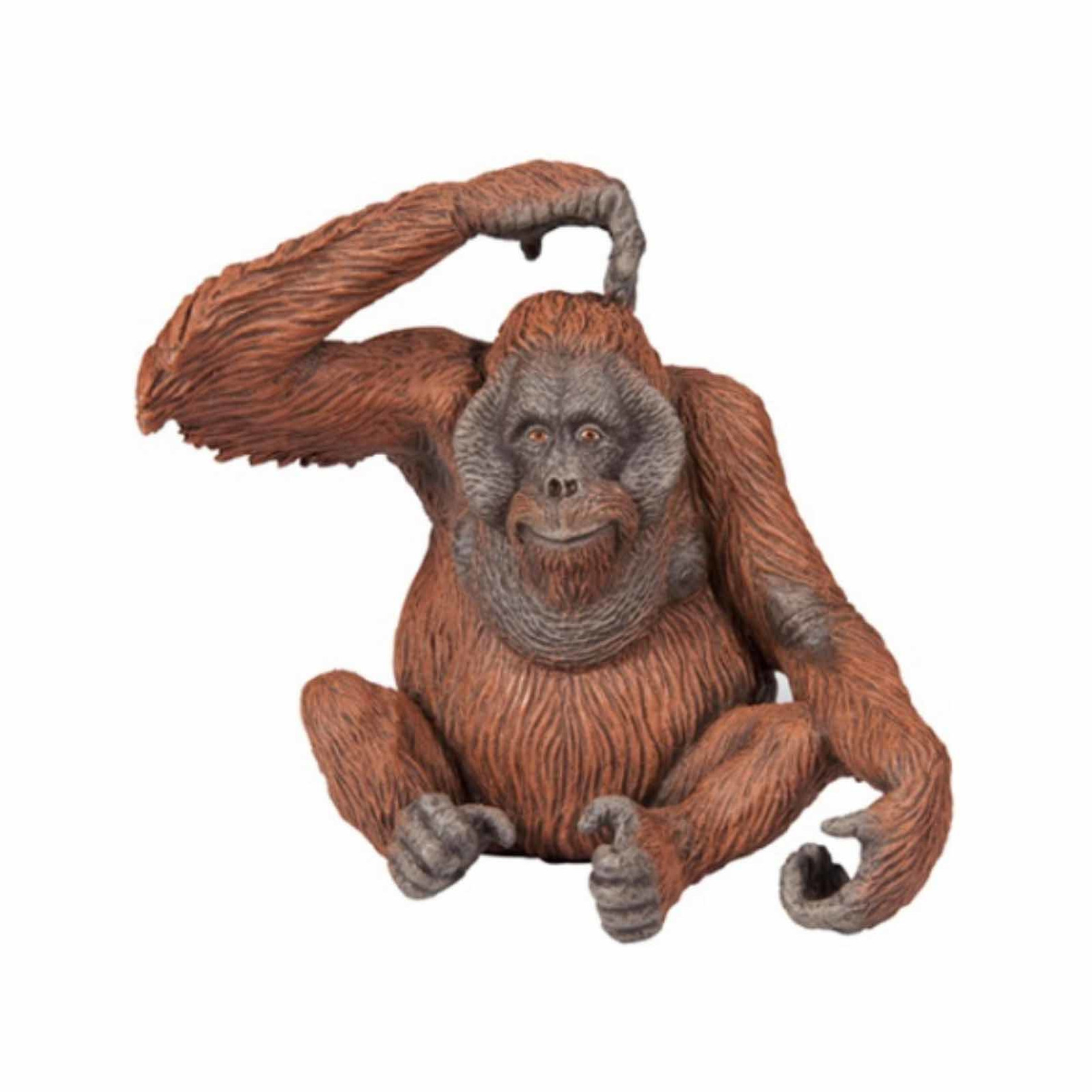 Plastic orang-oetan 9 cm