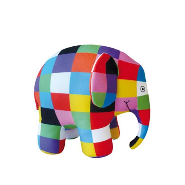 Pluche Elmer de olifant 40 cm