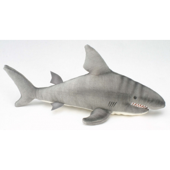 Pluche haaien knuffel 49 cm